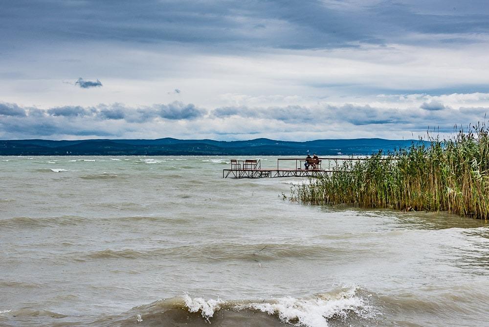 Balatonmeer, Siófok, Hongarijen