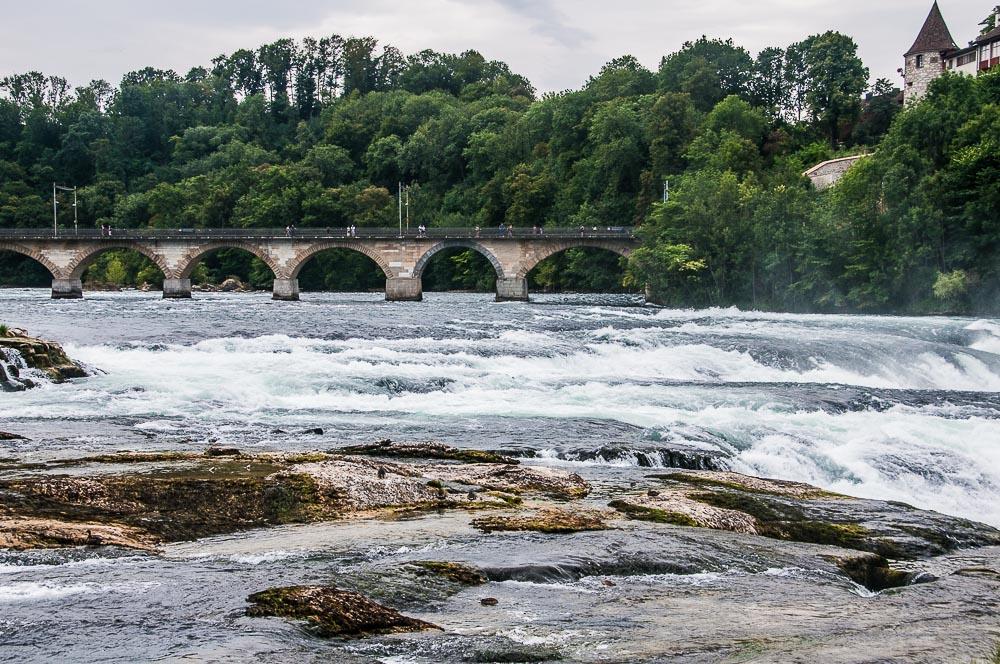 Rheinfall, Schaffhausen, Zwitserland